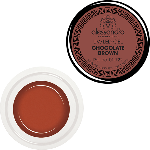 alessandro Farbgel - Chocolate Brown (5g)