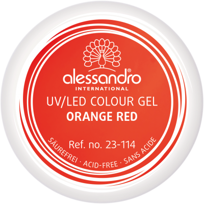 alessandro Farbgel - Orange Red (5g)