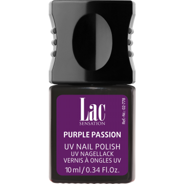alessandro UV-Nagellack Glam Rock - Purple Passion (10ml)