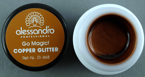 alessandro Farbgel Go Magic!Twist - Copper Glitter (5g)