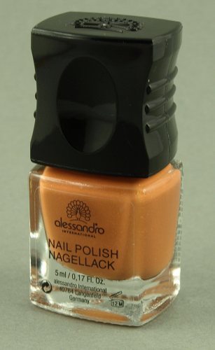 alessandro Nagellack Watch Me! - Pearly Terracotta (5ml)