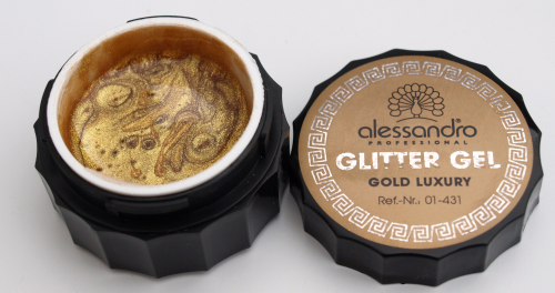 alessandro Glitter Gel - Gold Luxury (10g)