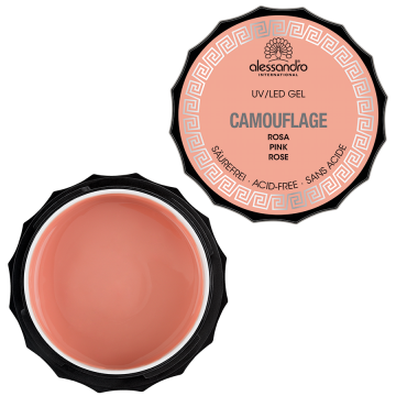 alessandro Camouflage Gel - Rosa (15g)