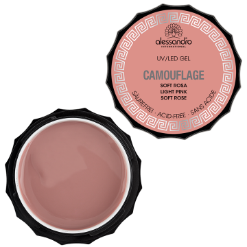 alessandro Camouflage Gel - Soft Rosa (15g)