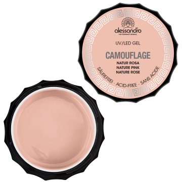 alessandro Camouflage Gel - Nature Rosa (15g)