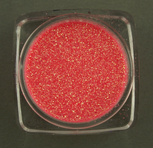 alessandro Nail Art - French Glitter Powder-Neon Red (6g)