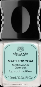 alessandro Top Coat Matt (10ml)
