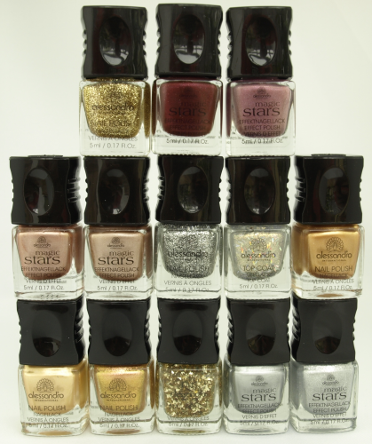alessandro Nagellack Set Wild 13 - Glitter Party (65ml)