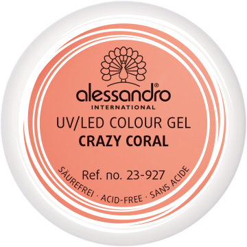 alessandro Farbgel Colour Explosion - Crazy Coral (5 g)