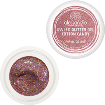 alessandro Glitter Gel - Cotton Candy (5g)