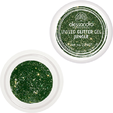 alessandro Glitter Gel - Jungle (5g)