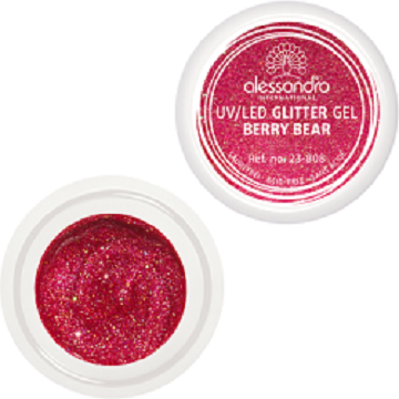 alessandro Glitter Gel - Berry Bear (5g)