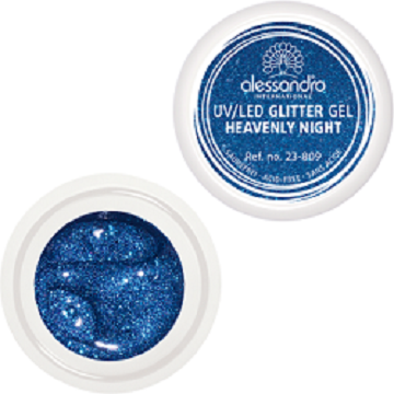 alessandro Glitter Gel - Heavenly Night (5g)
