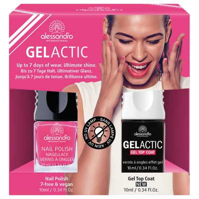 alessandro Nagellack Set  - Gelactic + Bubble Gum (2x10ml)