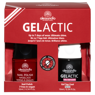 alessandro Nagellack Set - Gelactic+P.S. I Love You (2 x 10ml)