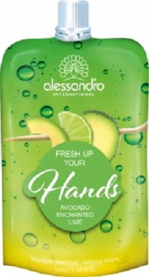 alessandro Fresh Up Handpflegegel - Avocado-Limette (50ml)