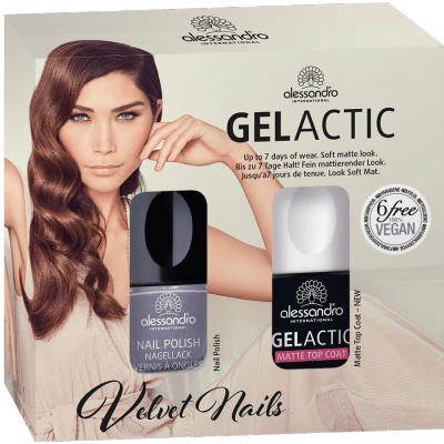 alessandro  Nagellack Set - Gelactic Matt Stay With Me!(2x10ml)