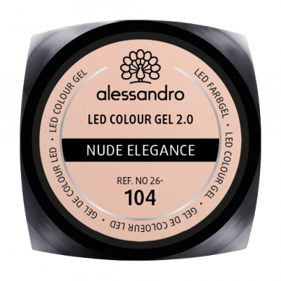 alessandro LED Colour Gel 2.0 - Nude Elegance (5g)
