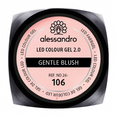alessandro LED Colour Gel 2.0 - Gentle Blush (5g)