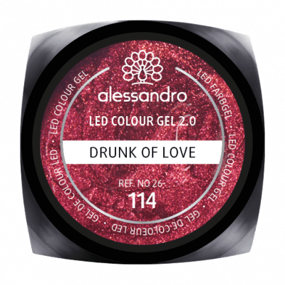 alessandro LED Colour Gel 2.0 - Drunk Of Love (5g)