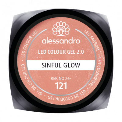 alessandro LED Colour Gel 2.0 - Sinful Glow (5g)