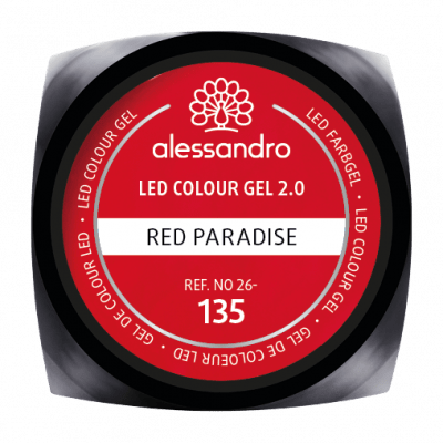 alessandro LED Colour Gel 2.0 - Red Paradise (5g)