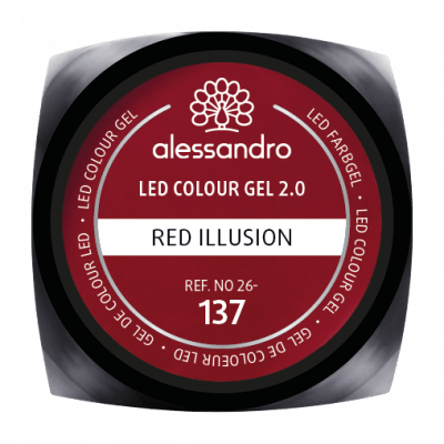 alessandro LED Colour Gel 2.0 - Red Illusion (5g)