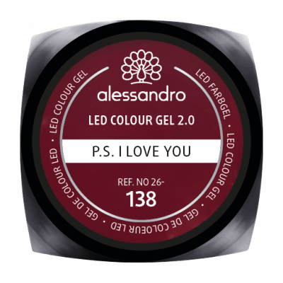 alessandro LED Colour Gel 2.0 - P.S. I Love You (5g)