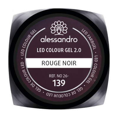 alessandro LED Colour Gel 2.0 - Rouge Noir (5g)