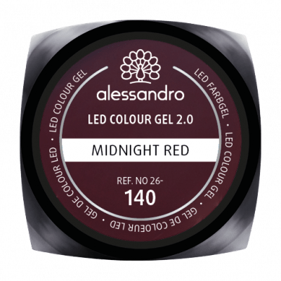 alessandro LED Colour Gel 2.0 - Midnight Red (5g)