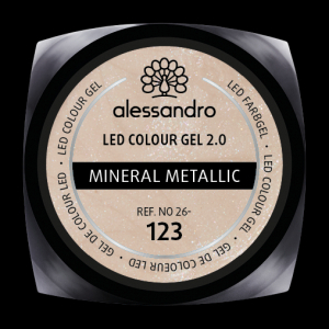 alessandro LED Colour Gel 2.0 - Mineral Metallic (5g)