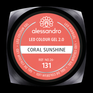 alessandro LED Colour Gel 2.0 - Coral Sunshine (5g)