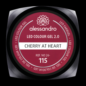 alessandro LED Colour Gel 2.0 - Cherry At Heart (5g)