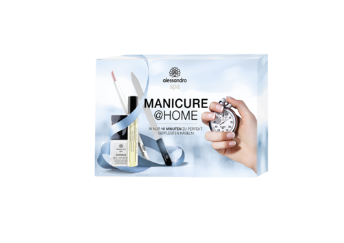 alessandro Spa - Manicure@Home Nagelpflegeset