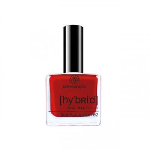 alessandro Hybrid Soul Gel Polish - Red Paradise (8ml)